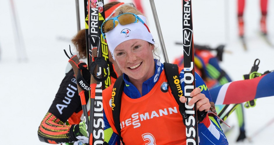 Biathlon vainqueur